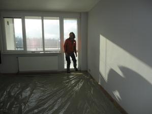 příprava na malování
