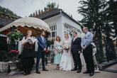 Privítanie mladomanželov