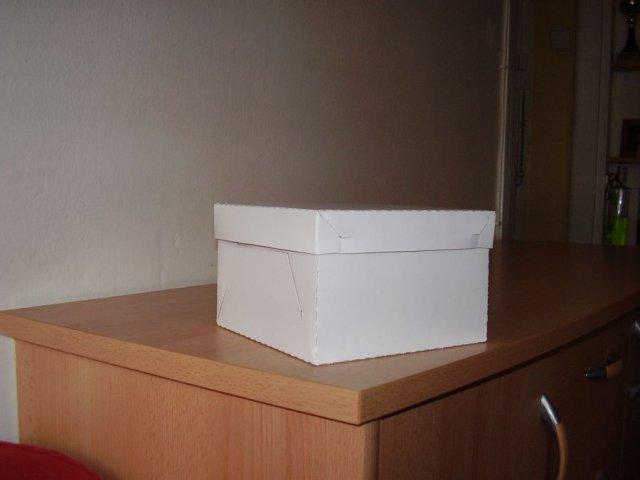 Klára a Tomáš 11.8.2006 - a konečně jsme také koupila krabičky na výslužky