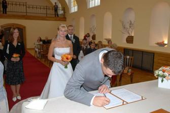 ženichův podpis