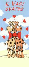 dostali jsme spousty krásných svatebních přání :-) mám je nalepená v albu a jsem stále dojatá, když si je čtu