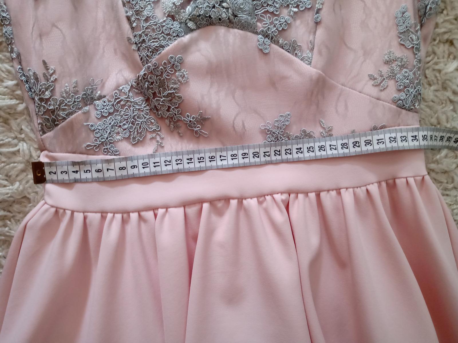 Spoločenské šaty, veľkosť 38 - Obrázok č. 2