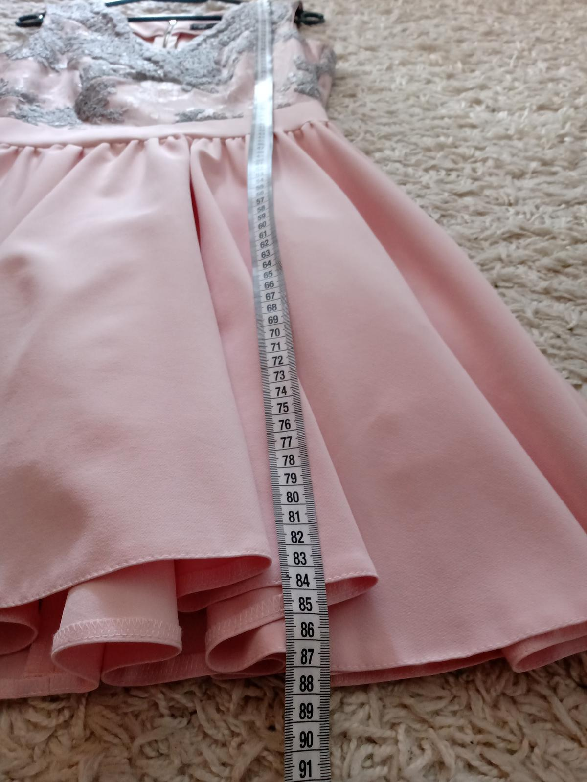 Spoločenské šaty, veľkosť 38 - Obrázok č. 3