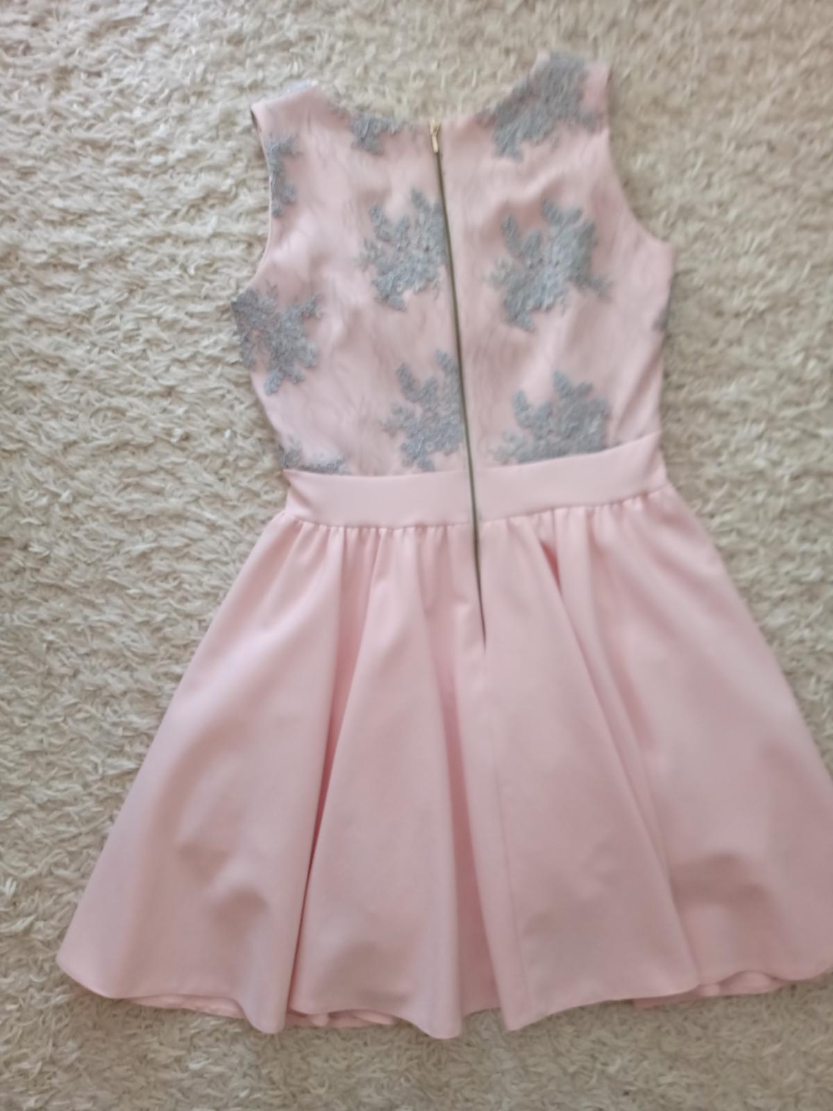 Spoločenské šaty, veľkosť 38 - Obrázok č. 4