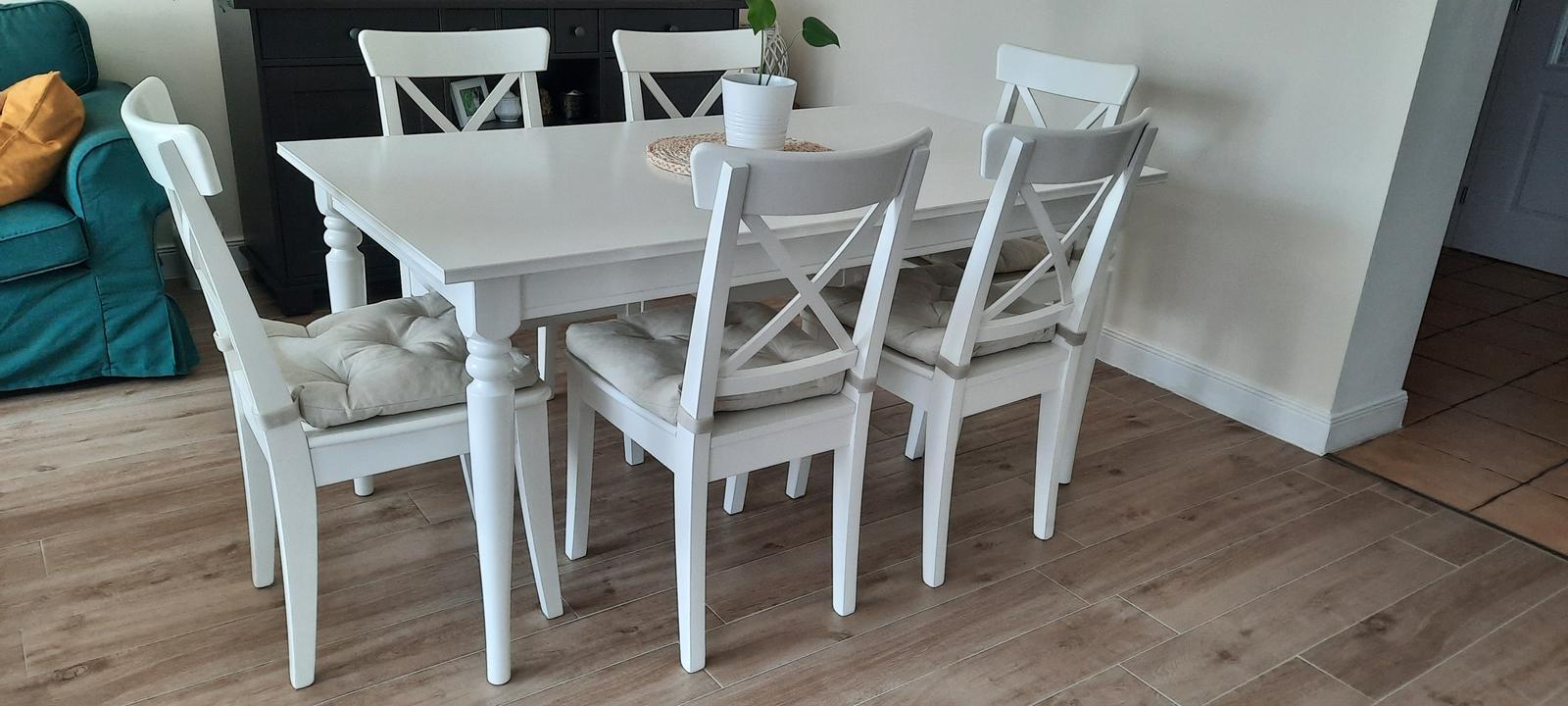 IKEA: jedálenský stôl a stoličky INGATORP/INGOLF - Obrázok č. 2