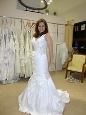 """3. šaty: Pracovní název """"Mořská panna"""" - nálada se zlepšuje"""