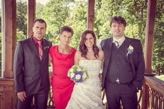 švagr Tom, maminka Dáša a my