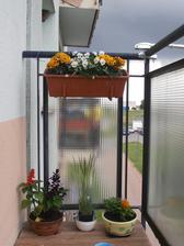 druhý balkon...