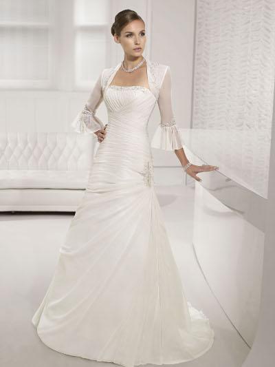 Výprodej svatebních šatů - Victoria Jane 17405, ivory, vel. 38 - 40, cena 6.000 Kč