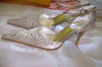 moje svadobné botičky :-)