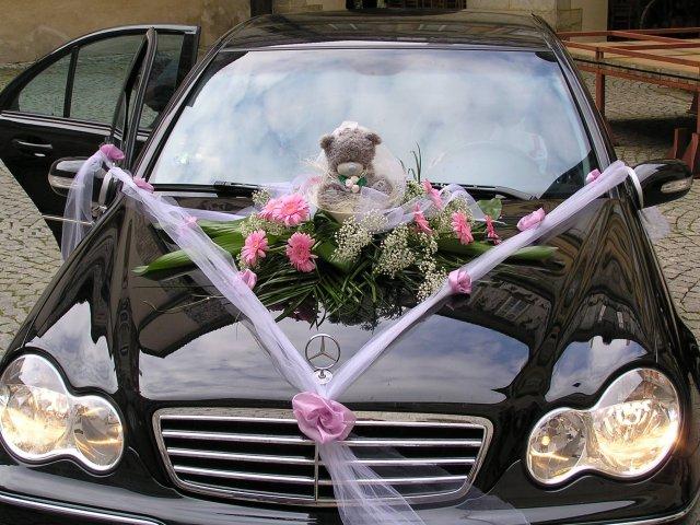Vyzdoby svadobných  áut - Obrázok č. 38