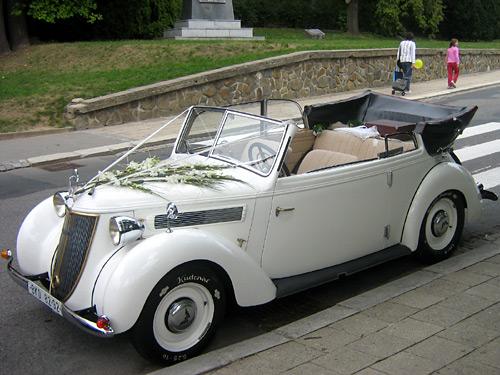 Přípravy - krásné auto