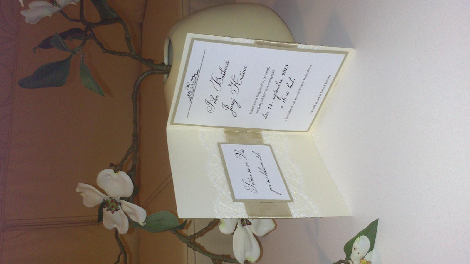 jedinecne svadobné oznámenia - Obrázok č. 2