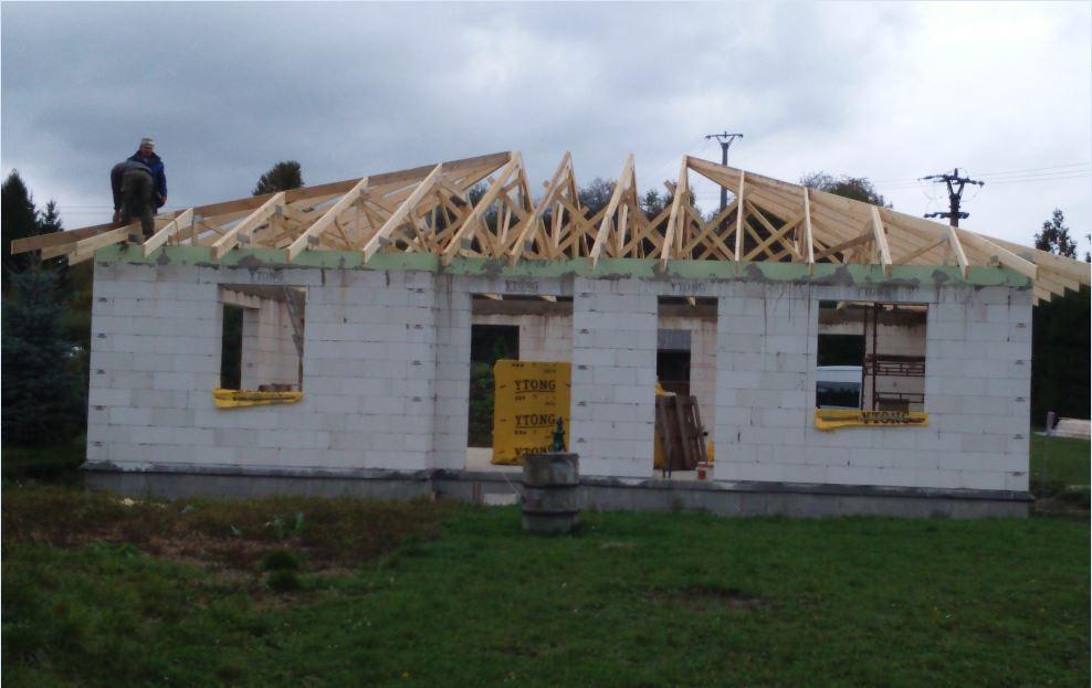 Náš nový domov - krov hotový