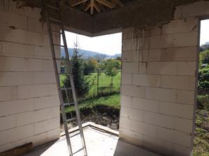 teším sa, že máme to rohové okno :)