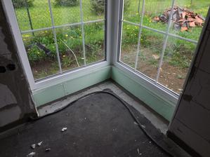 vyriešené aj rohové okno spolu s terasovými
