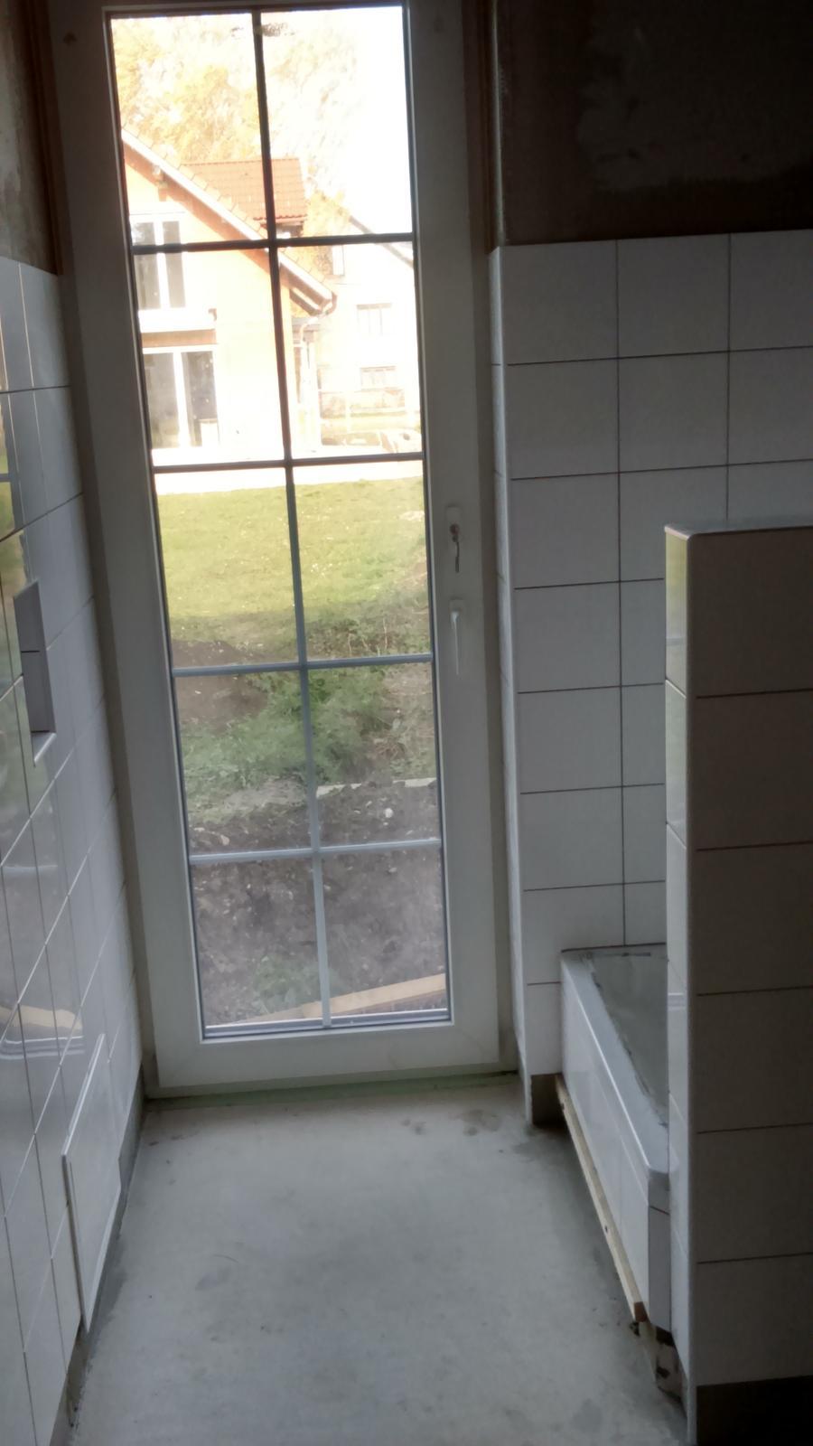 Náš nový domov - sprchovaci kút pre Badika :-)