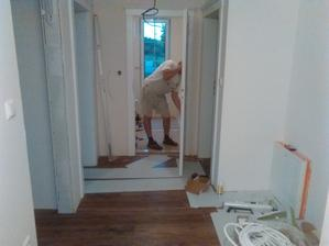 manžel začal nahadzovať zarubne. Sám vyrobil.:-)