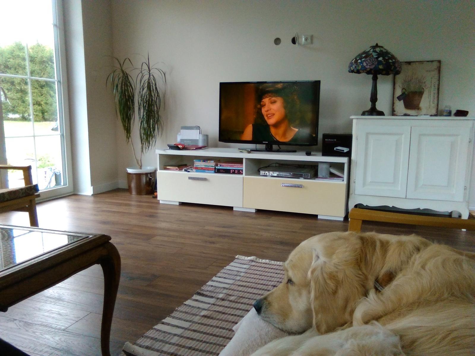 Náš nový domov-už bývame :-) - Ešte tak poskromne, ale už sme vo svojom.