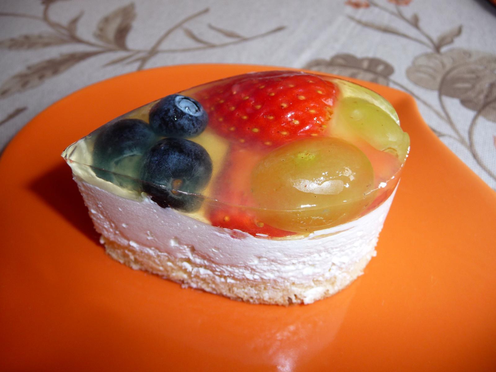Z mého kuchařského deníku - a zase jedno narozeninové pečení..ovocné semifredo