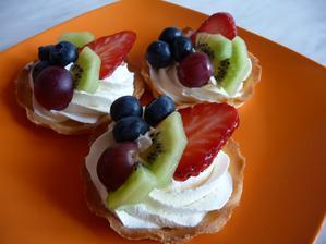 ovocné tartaletky