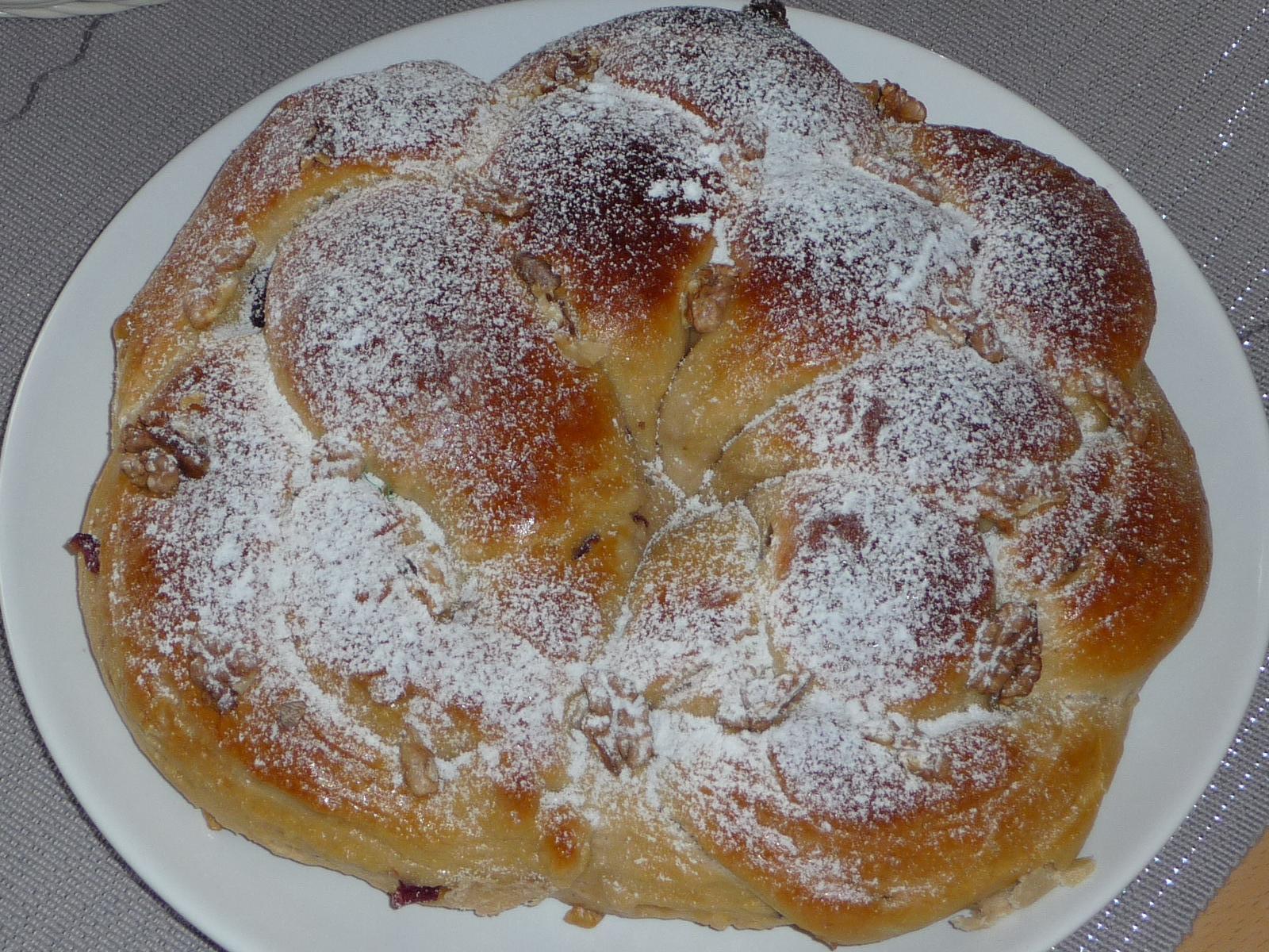 Z mého kuchařského deníku - velikonoční věnec