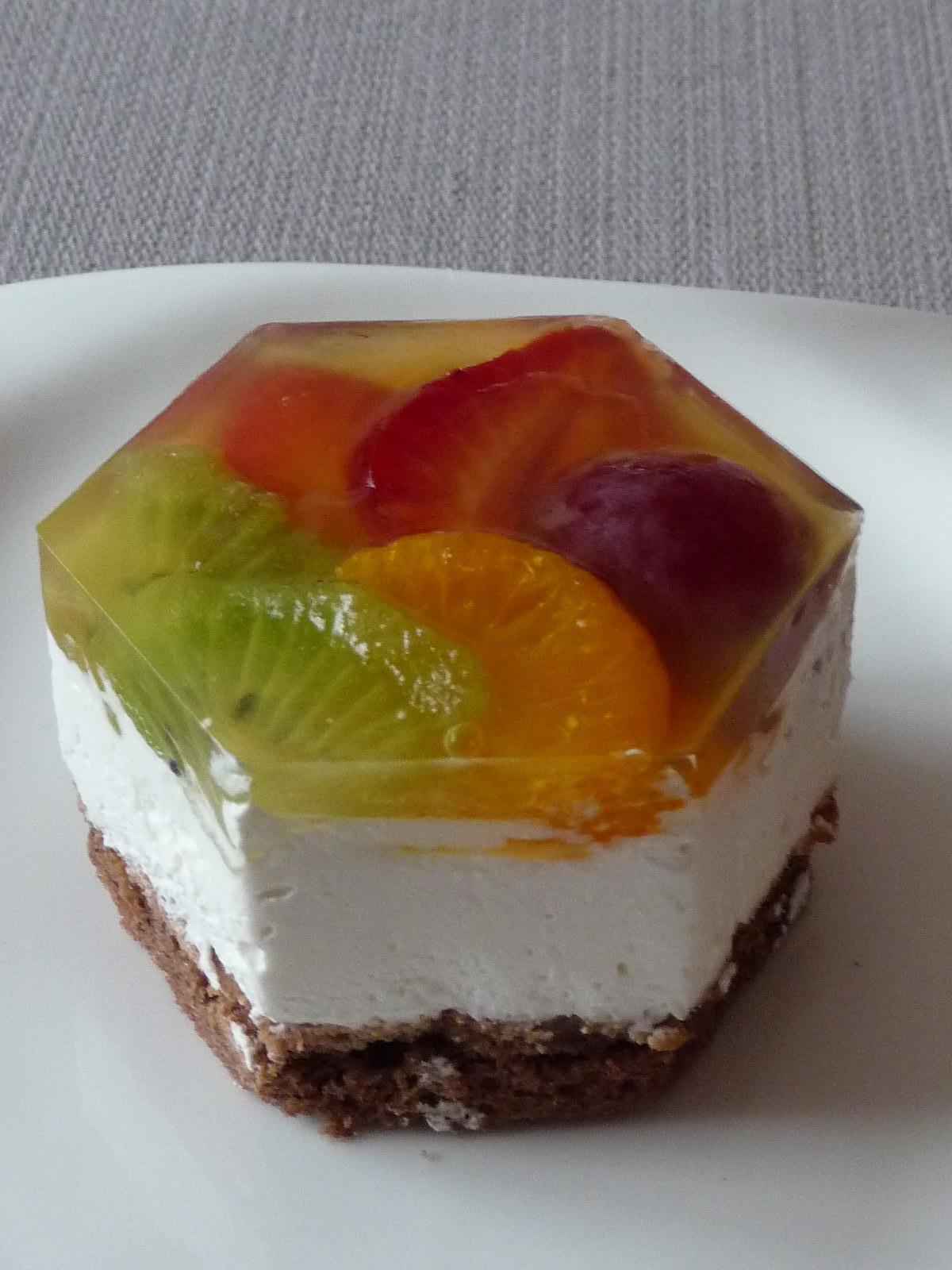 Z mého kuchařského deníku - Ovocné semifredo