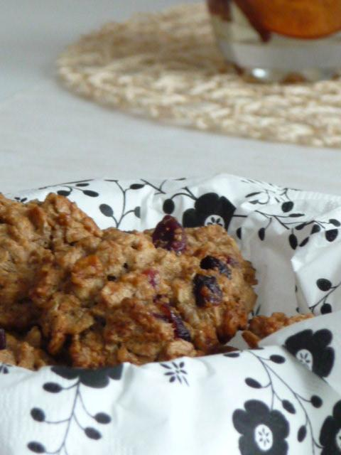 Z mého kuchařského deníku - Cookies s celozrnné mouky pro zdravé mlsání.