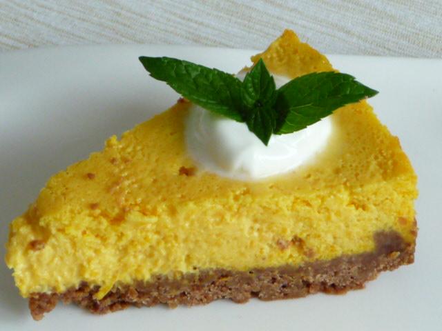 Z mého kuchařského deníku - dýňový cheesecake