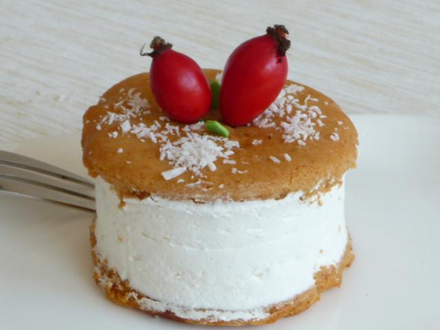 Z mého kuchařského deníku - Podzimní variace dortíků - tentokrát těsto jako na medovník.