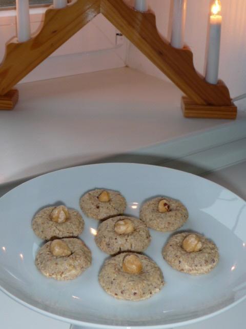 Z mého kuchařského deníku - oříškové bochánky