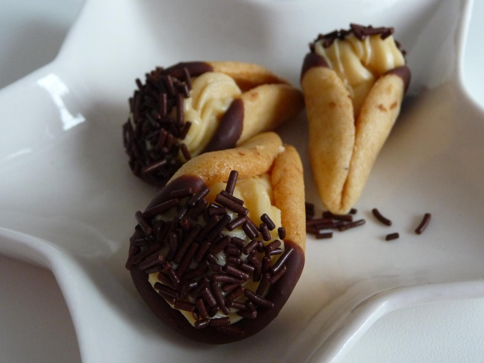 Z mého kuchařského deníku - medové kornoutky