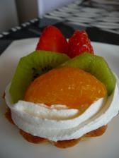 opět jedno pečení na oslavu- ovocné tartaletky