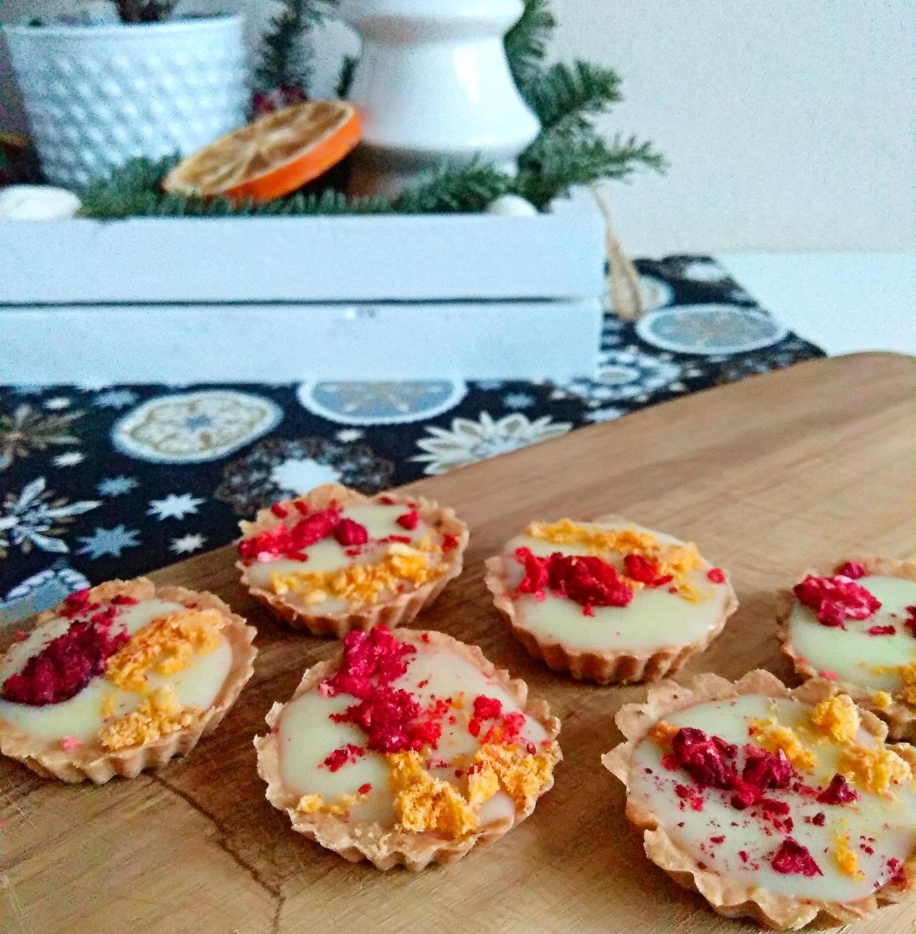 Z mého kuchařského deníku - Poprvé na vánoce mini tartaletky
