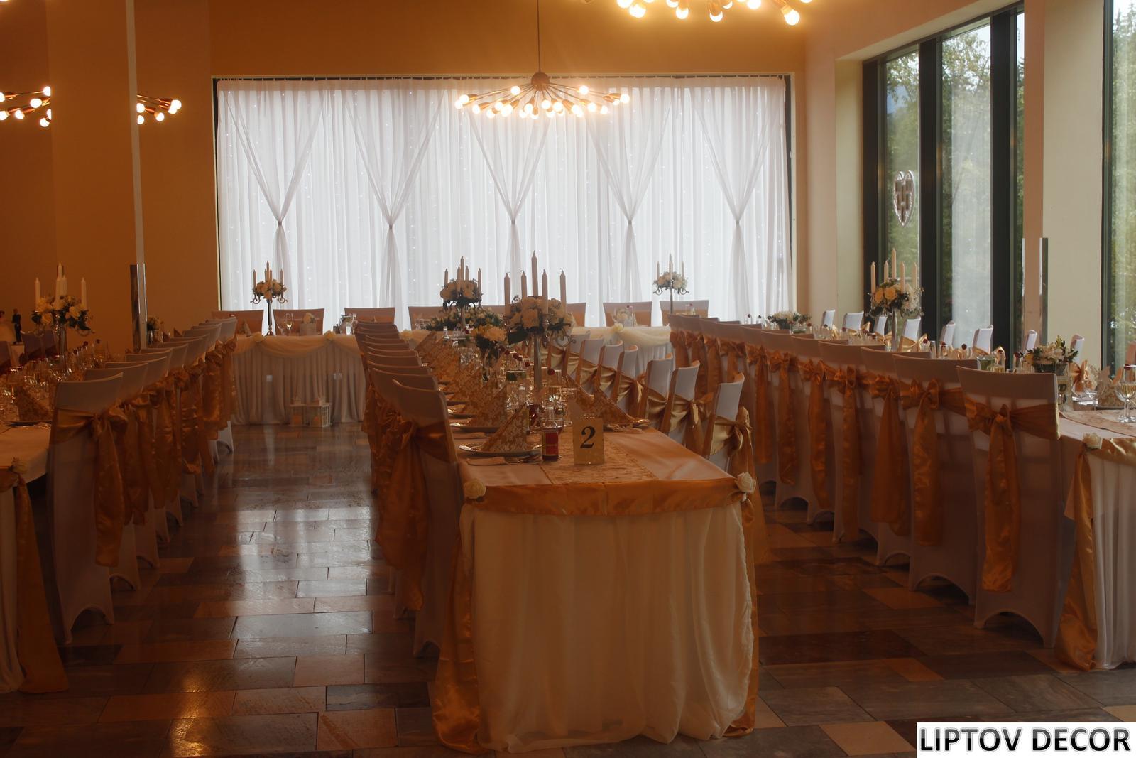 Svadobná výzdoba - HOTEL HRABOVO RUŽOMBEROK - Obrázok č. 1