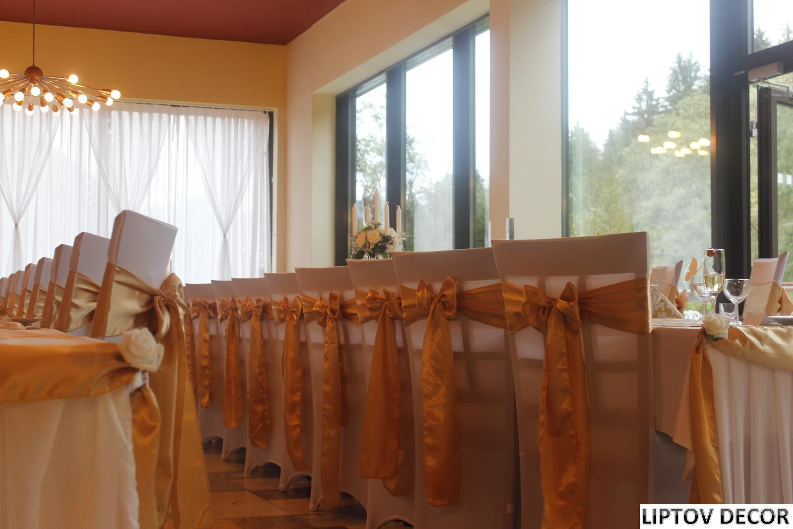 Svadobná výzdoba - HOTEL HRABOVO RUŽOMBEROK - Obrázok č. 5