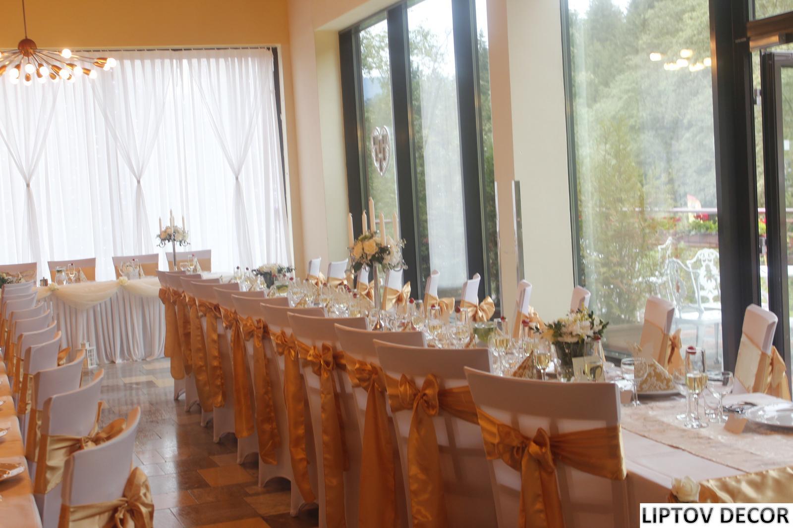 Svadobná výzdoba - HOTEL HRABOVO RUŽOMBEROK - Obrázok č. 6