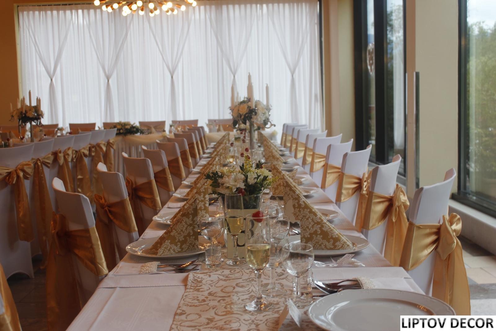Svadobná výzdoba - HOTEL HRABOVO RUŽOMBEROK - Obrázok č. 7