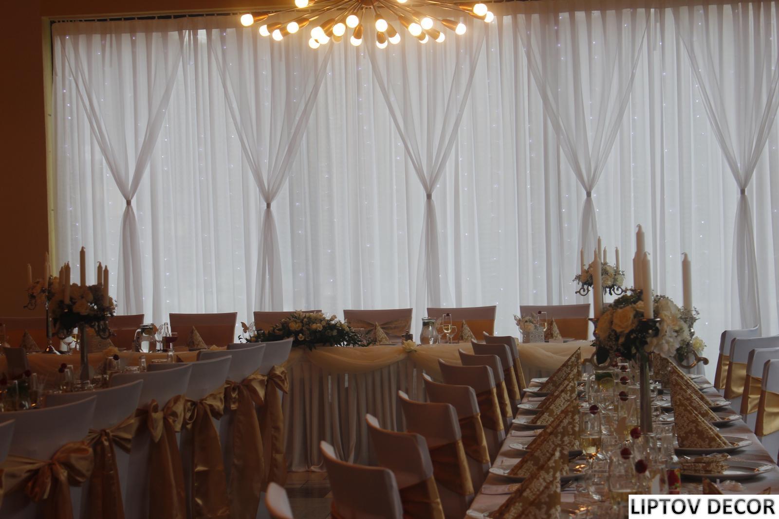 Svadobná výzdoba - HOTEL HRABOVO RUŽOMBEROK - Obrázok č. 8
