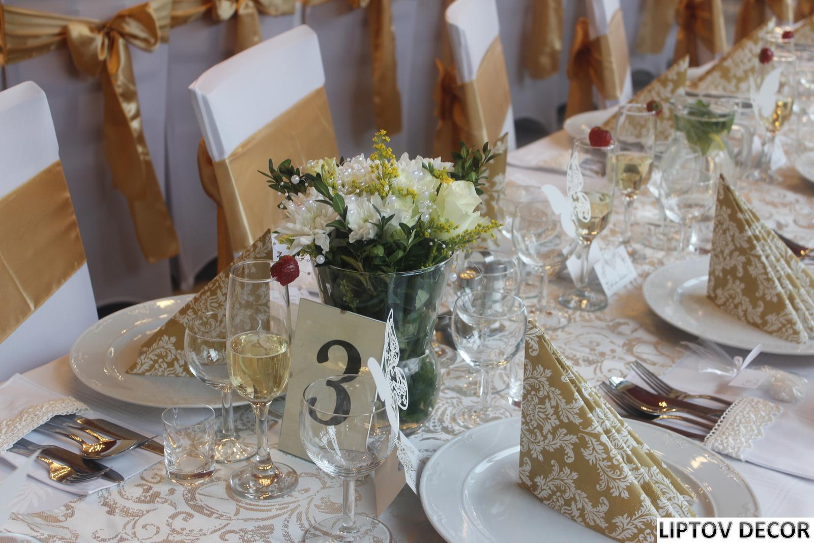 Svadobná výzdoba - HOTEL HRABOVO RUŽOMBEROK - Obrázok č. 9