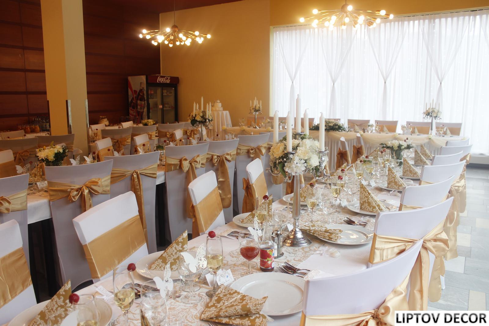 Svadobná výzdoba - HOTEL HRABOVO RUŽOMBEROK - Obrázok č. 10