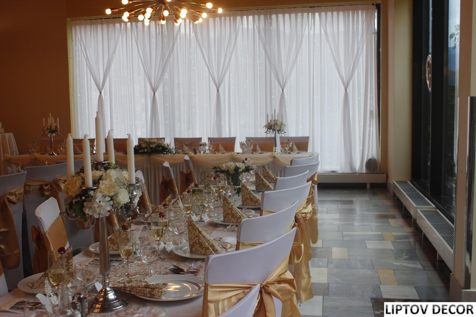 Svadobná výzdoba - HOTEL HRABOVO RUŽOMBEROK - Obrázok č. 11