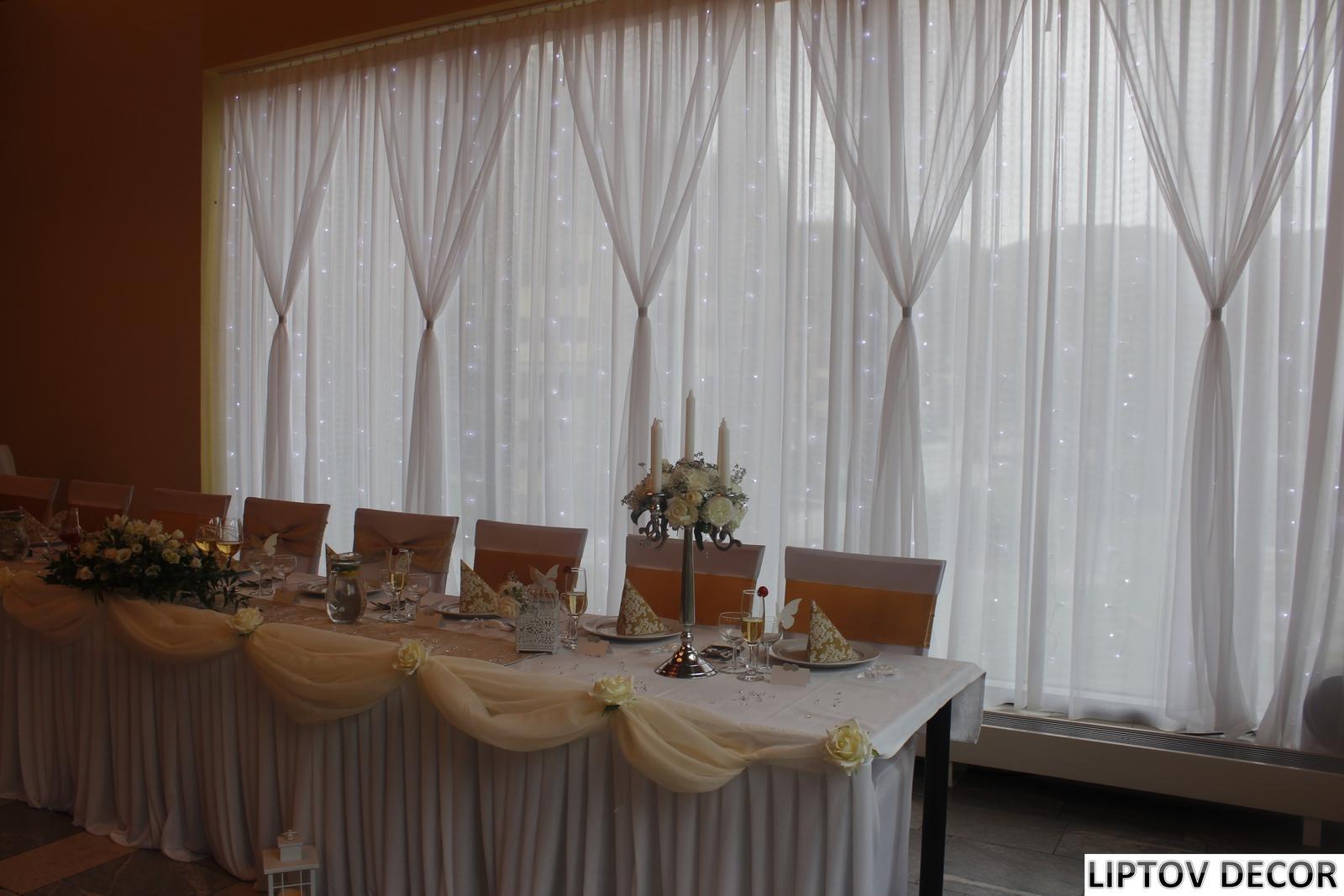Svadobná výzdoba - HOTEL HRABOVO RUŽOMBEROK - Obrázok č. 12
