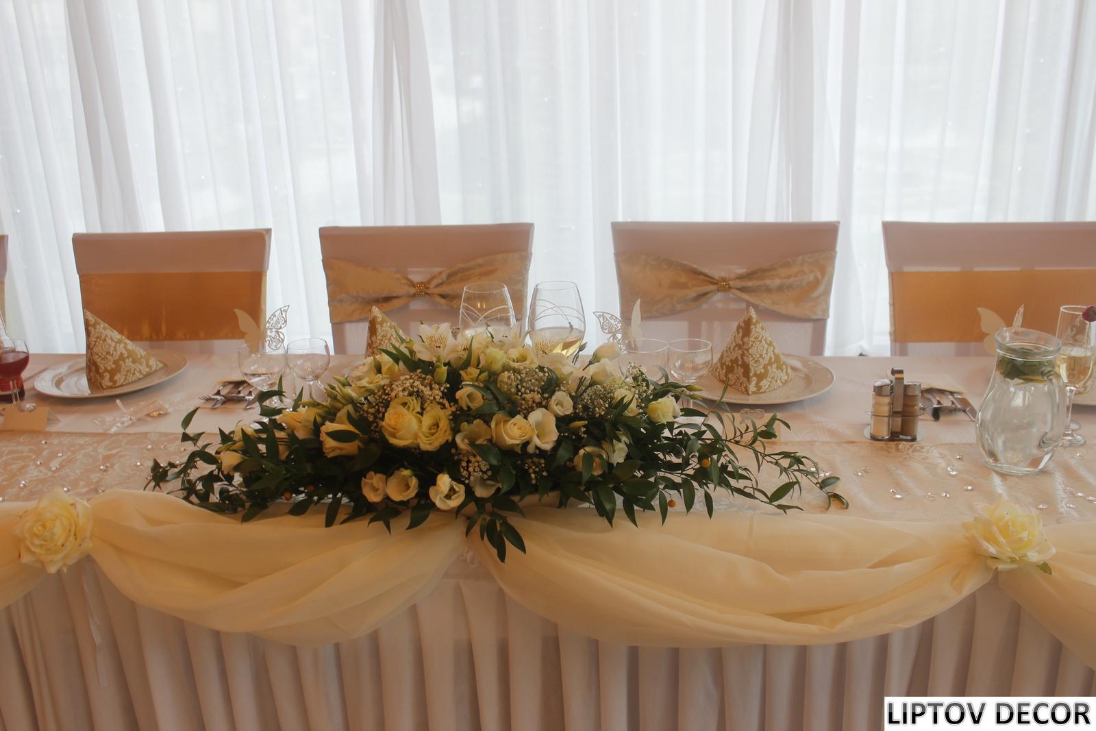 Svadobná výzdoba - HOTEL HRABOVO RUŽOMBEROK - Obrázok č. 16