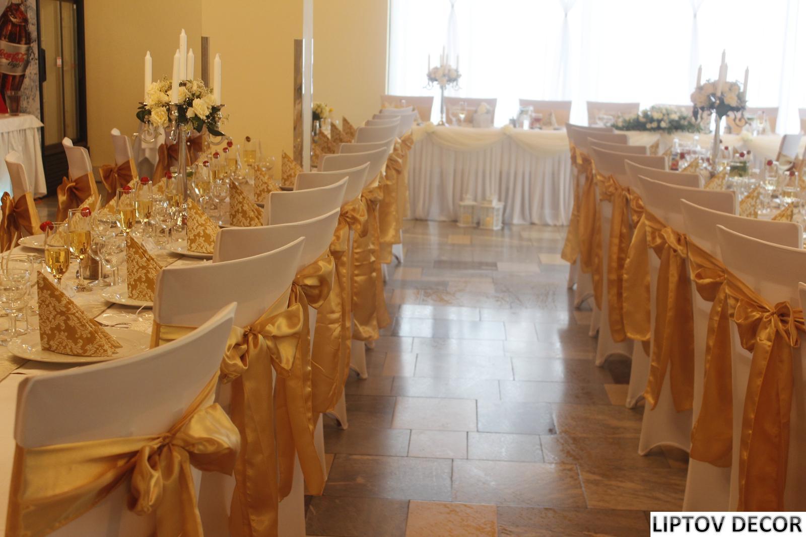 Svadobná výzdoba - HOTEL HRABOVO RUŽOMBEROK - Obrázok č. 18