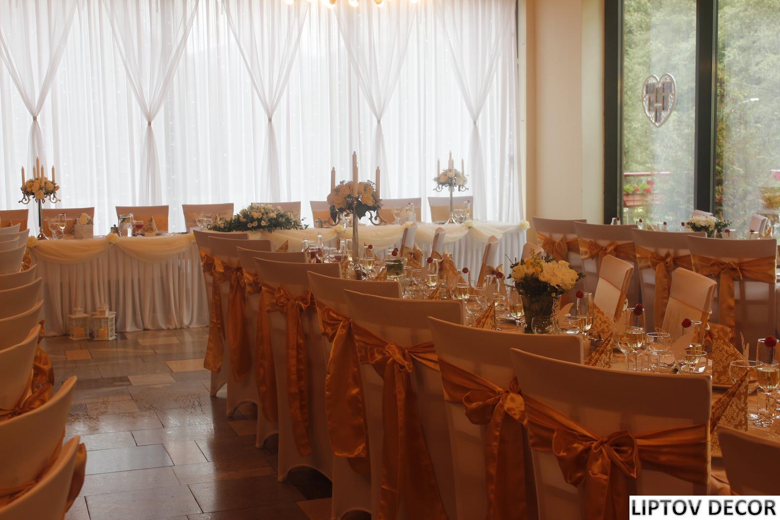 Svadobná výzdoba - HOTEL HRABOVO RUŽOMBEROK - Obrázok č. 19