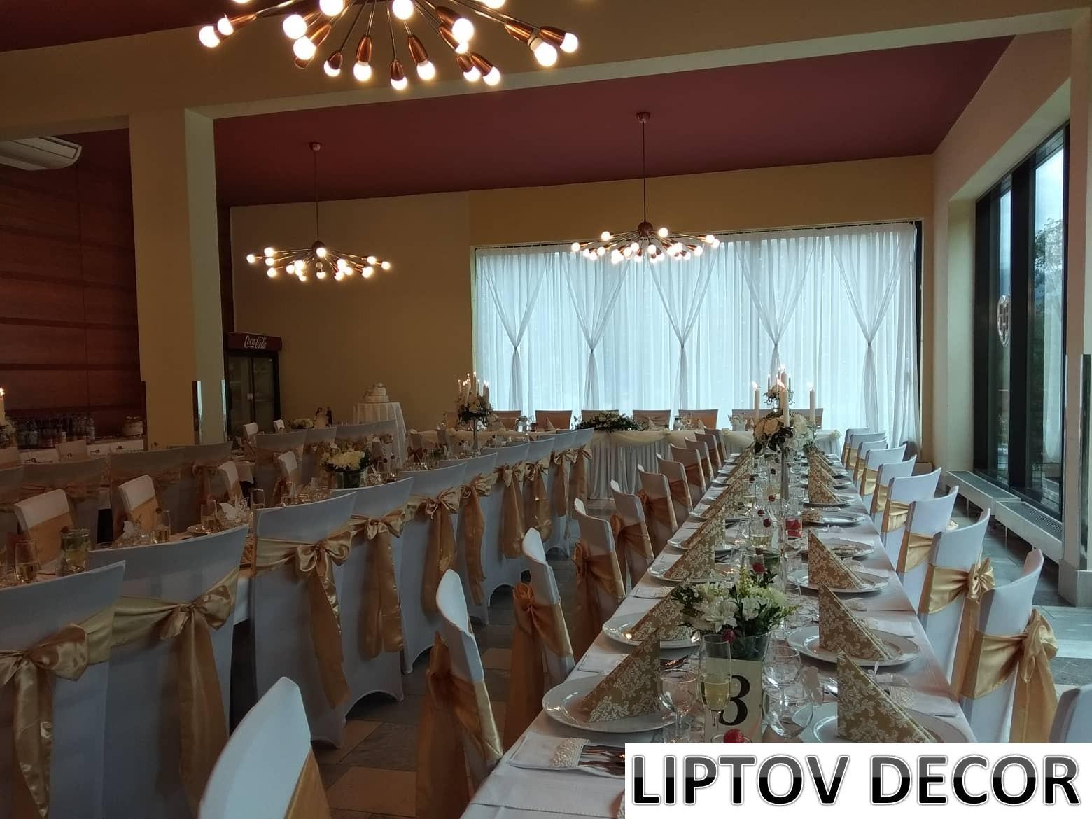Svadobná výzdoba - HOTEL HRABOVO RUŽOMBEROK - Obrázok č. 31