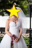 bílé svatební šaty z Prahy, 34