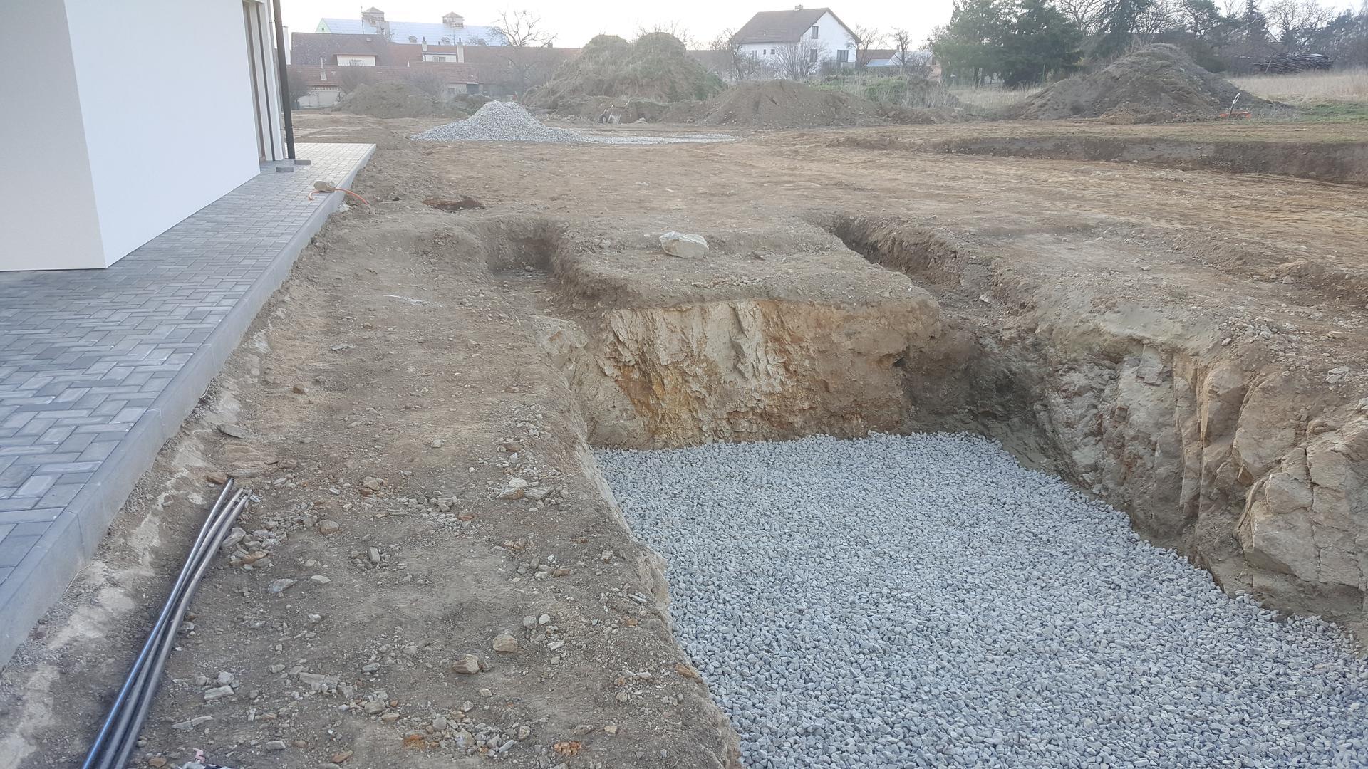 Náš dům pokračování - Příprava před betonáží