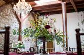 Drevene anticke vazy na kvetinovu vyzdobu ,